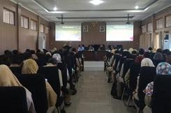 Rapat Koordinasi dan Sinkronisasi Data Kepegawaian di lingkungan SKPD se Kabupaten Pati