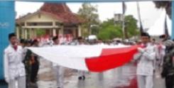 Kirab Bendera Merah Putih Semarakkan Peringatan Hari Kesaktian Pancasila 2016